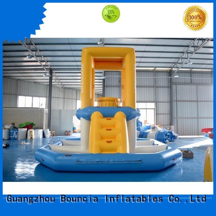 equipment pvc tarpaulin slipping inflatable water games Bouncia