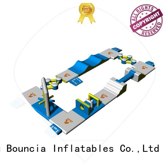 commercial inflatable rental small inflatable water park Bouncia Brand