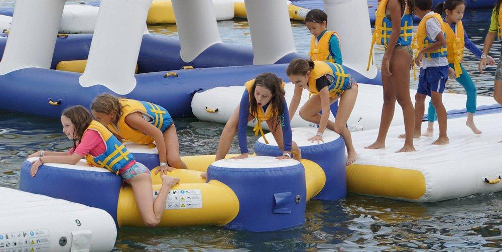 Bouncia -Inflatable Jumping Platform | Single Inflatable Water Games | Bouncia -1