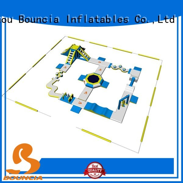 inflatable float inflatables blow up water park Bouncia Brand
