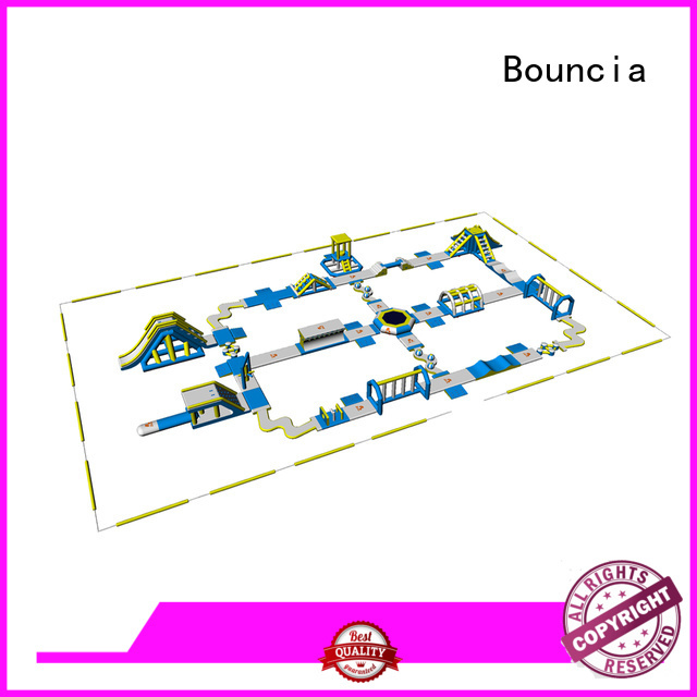 inflatable water slide for sale floating water Bouncia Brand company