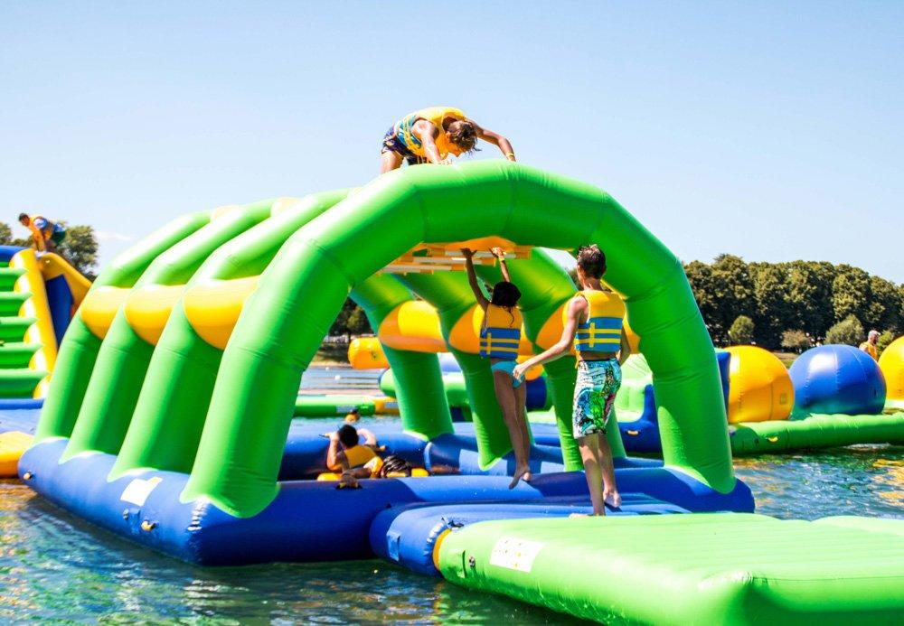 Bouncia -Inflatable Water Pool Obstcale Course | Single Inflatable Water Games-2